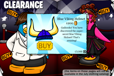 blue viking helmet