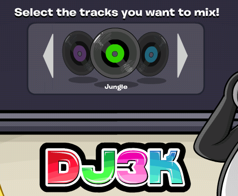 New DJ3K Menu