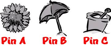 summer pin choices