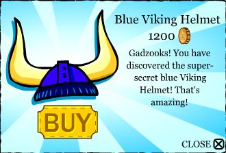 Blue Viking Helmet _2