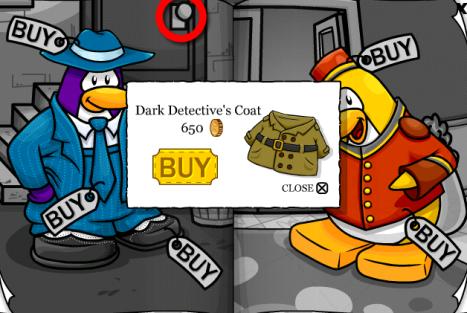 Dark Detective's Coat