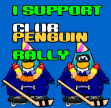 I Support Club Penguin Rally!