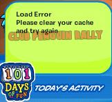 101 days of fun error